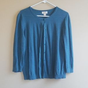 Loft 3/4 sleeve cardigan